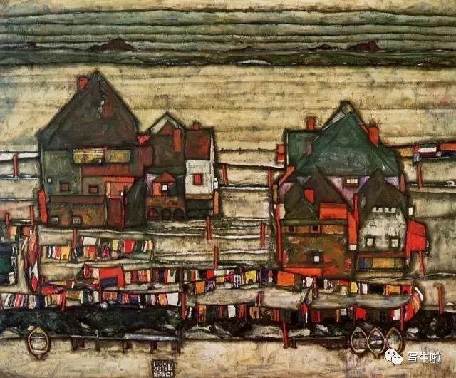 生命的疲惫与流逝——席勒笔下的房子插图7
