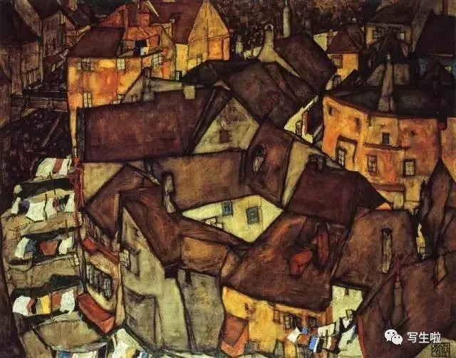 生命的疲惫与流逝——席勒笔下的房子插图19