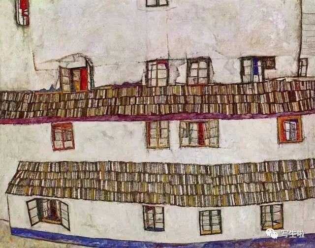 生命的疲惫与流逝——席勒笔下的房子插图29