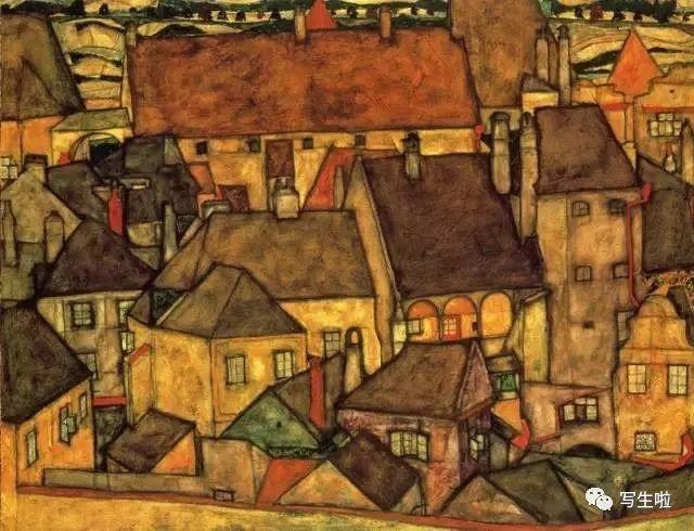 生命的疲惫与流逝——席勒笔下的房子插图31