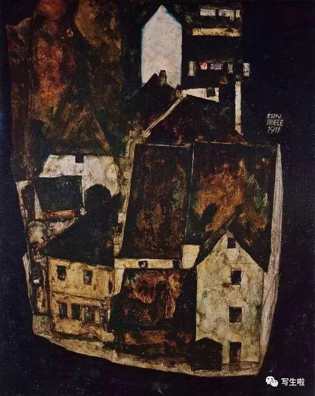 生命的疲惫与流逝——席勒笔下的房子插图39