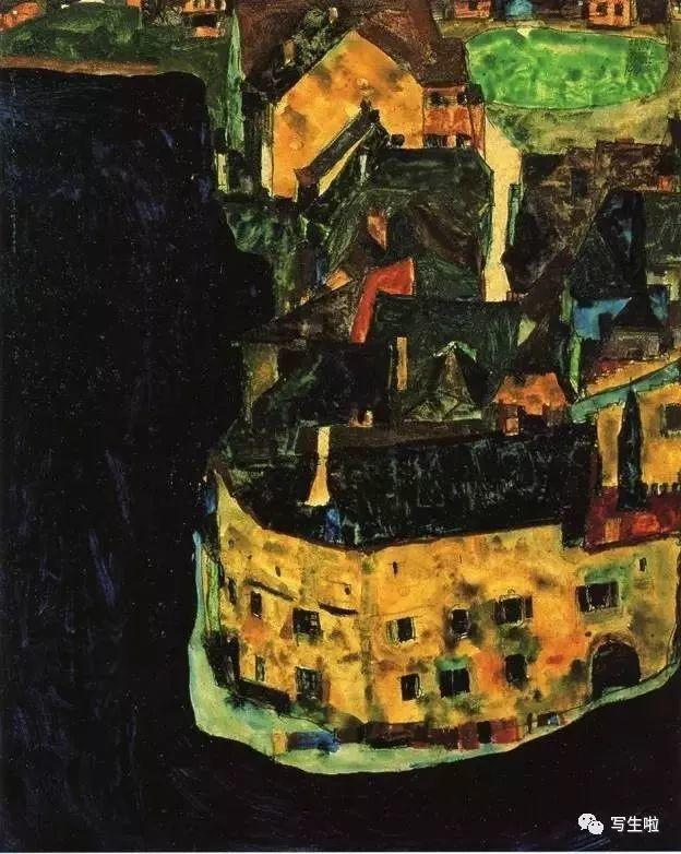 生命的疲惫与流逝——席勒笔下的房子插图43