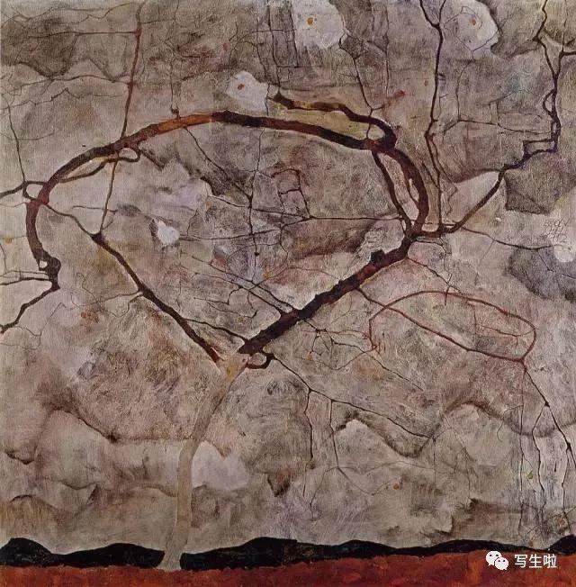 生命的疲惫与流逝——席勒笔下的房子插图55