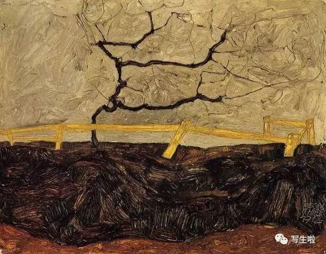 生命的疲惫与流逝——席勒笔下的房子插图63
