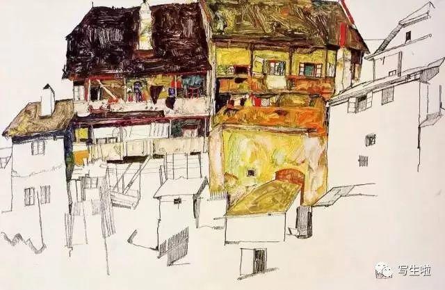 生命的疲惫与流逝——席勒笔下的房子插图65