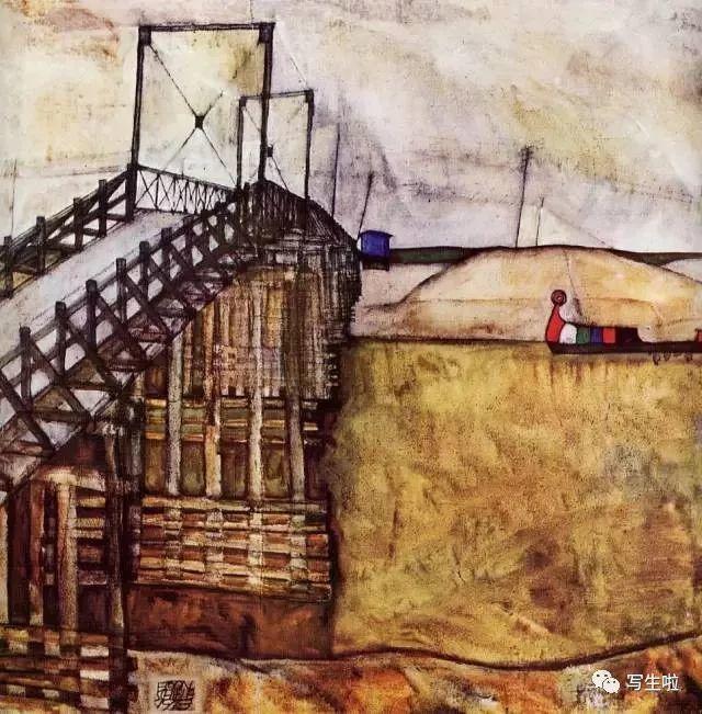 生命的疲惫与流逝——席勒笔下的房子插图69
