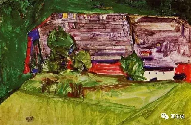 生命的疲惫与流逝——席勒笔下的房子插图75