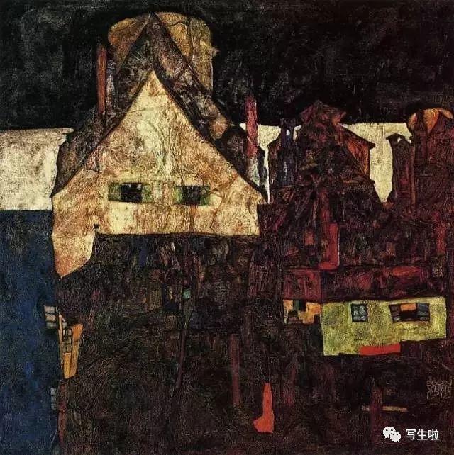 生命的疲惫与流逝——席勒笔下的房子插图81