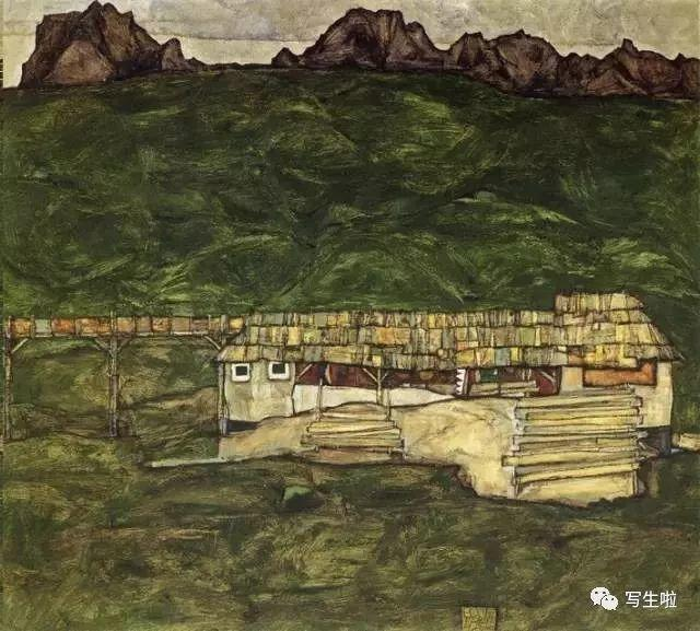 生命的疲惫与流逝——席勒笔下的房子插图91