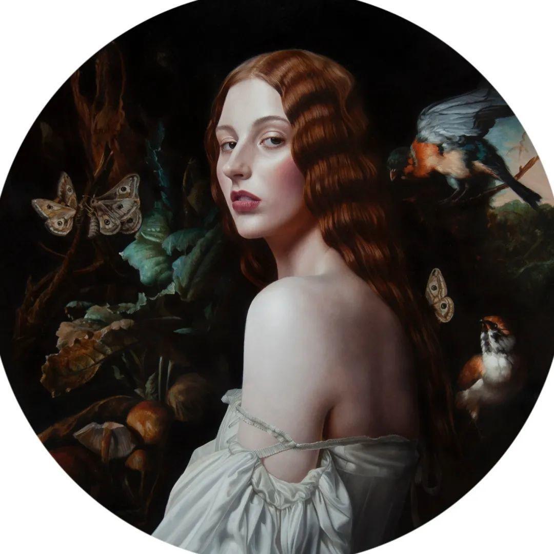 玛丽·简·安塞尔,时尚的女性肖像。插图5