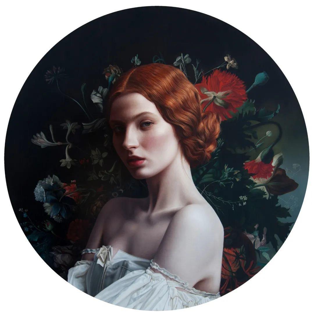 玛丽·简·安塞尔,时尚的女性肖像。插图7