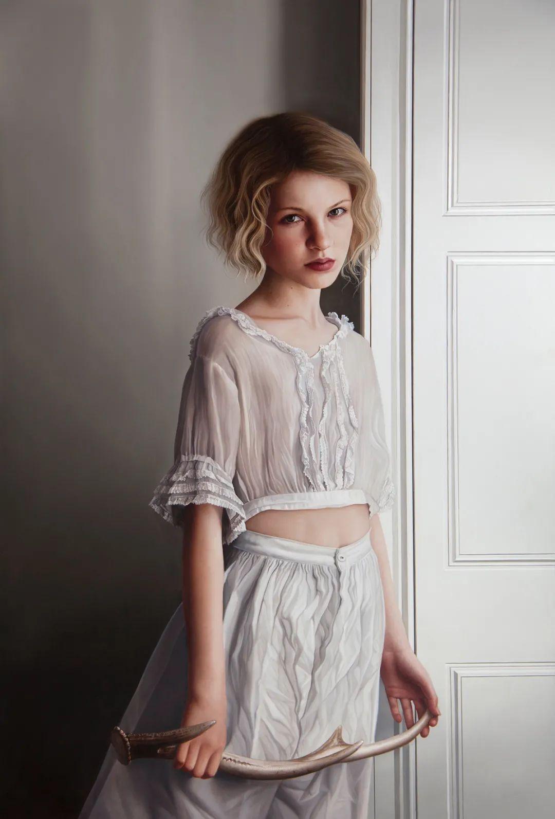 玛丽·简·安塞尔,时尚的女性肖像。插图11
