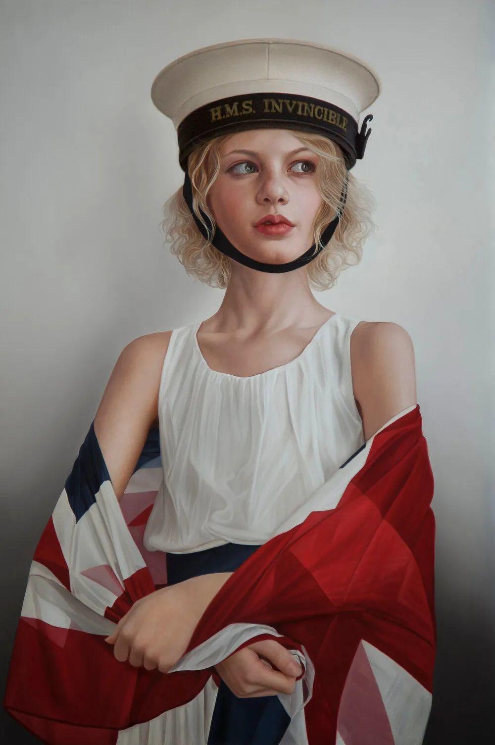 玛丽·简·安塞尔,时尚的女性肖像。插图15