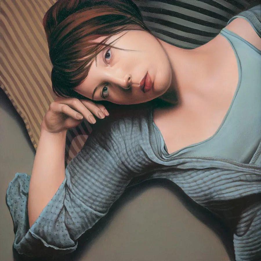 玛丽·简·安塞尔,时尚的女性肖像。插图17