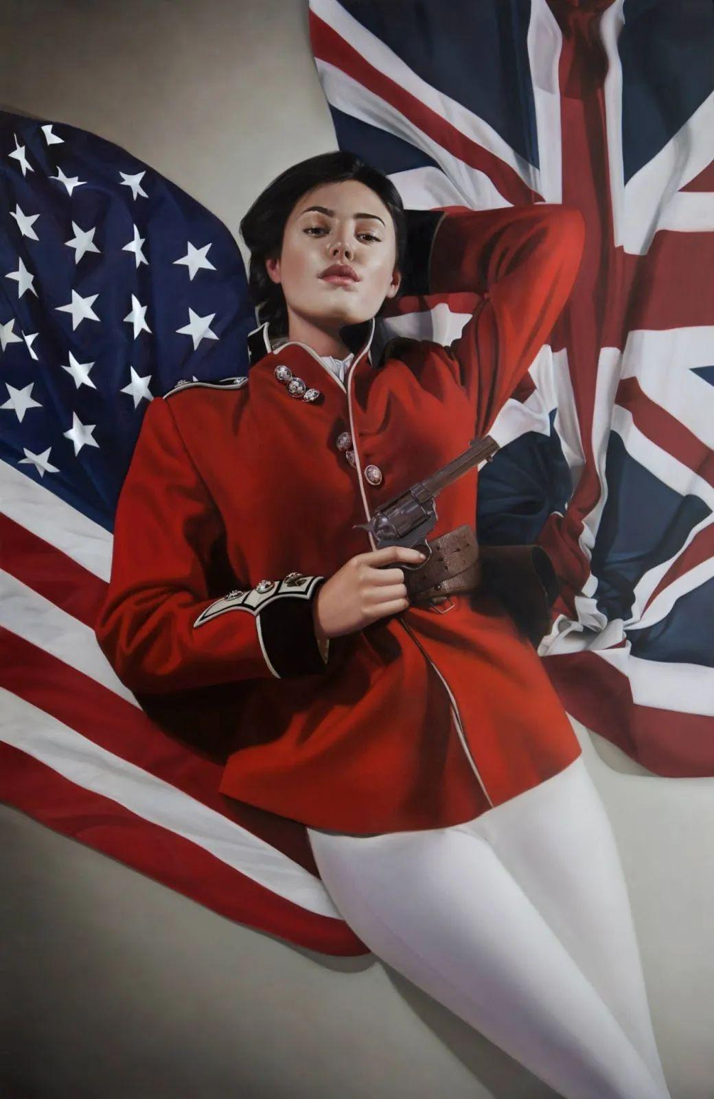 玛丽·简·安塞尔,时尚的女性肖像。插图19