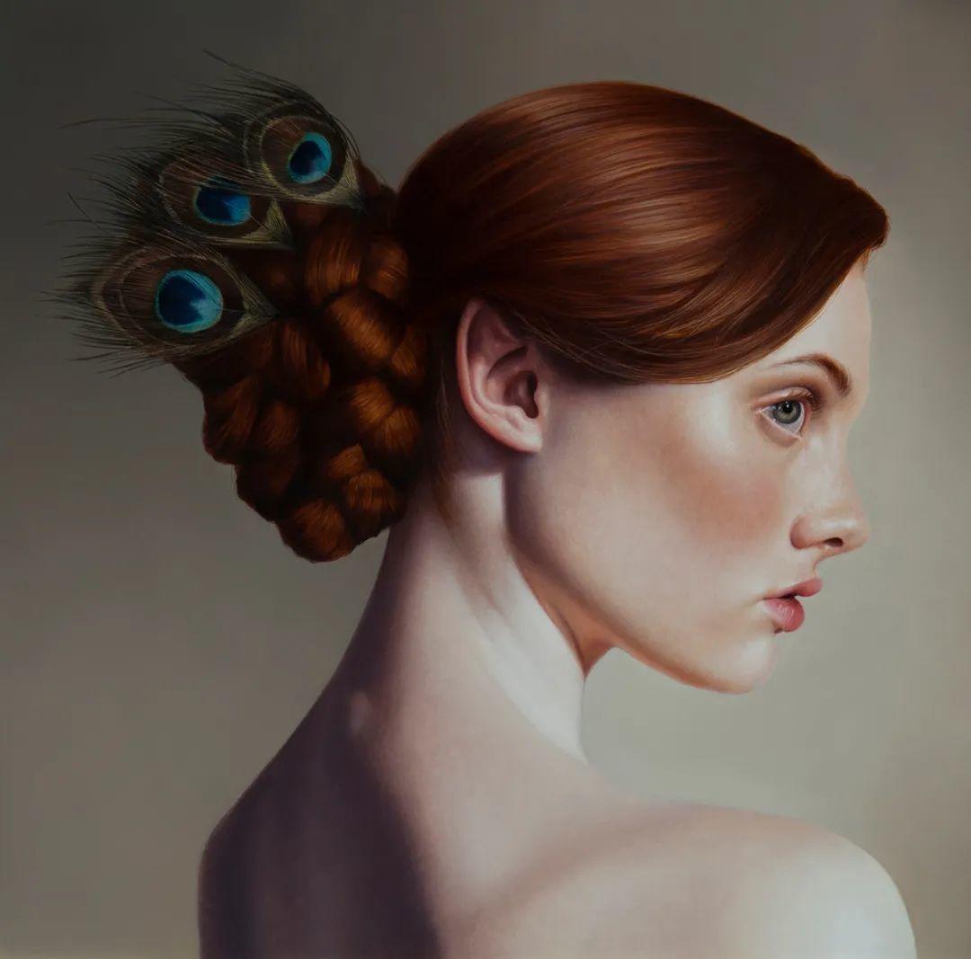 玛丽·简·安塞尔,时尚的女性肖像。插图21
