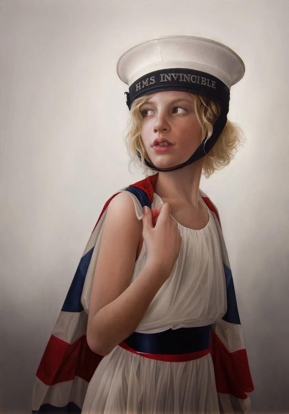 玛丽·简·安塞尔,时尚的女性肖像。插图27