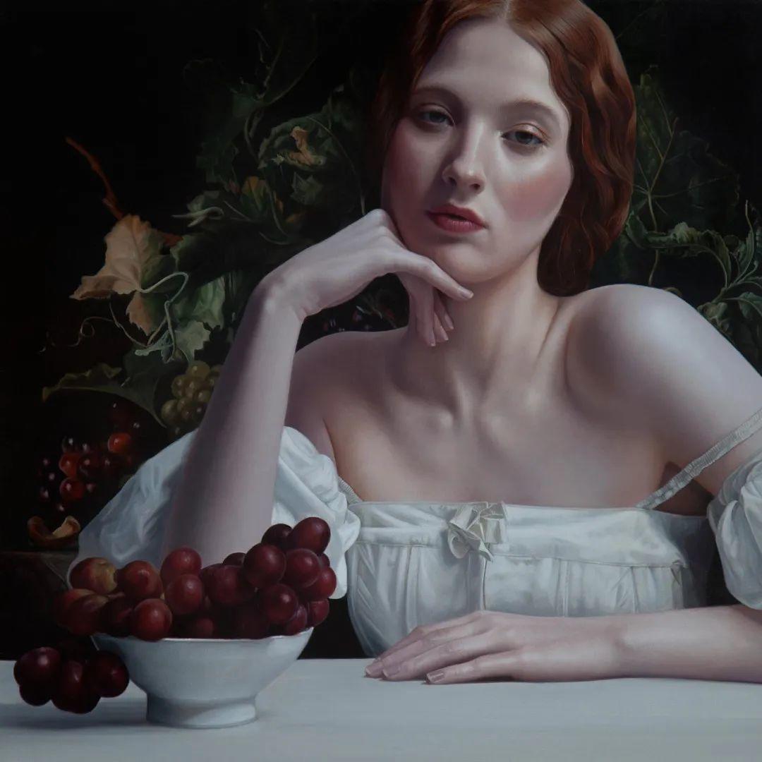 玛丽·简·安塞尔,时尚的女性肖像。插图33