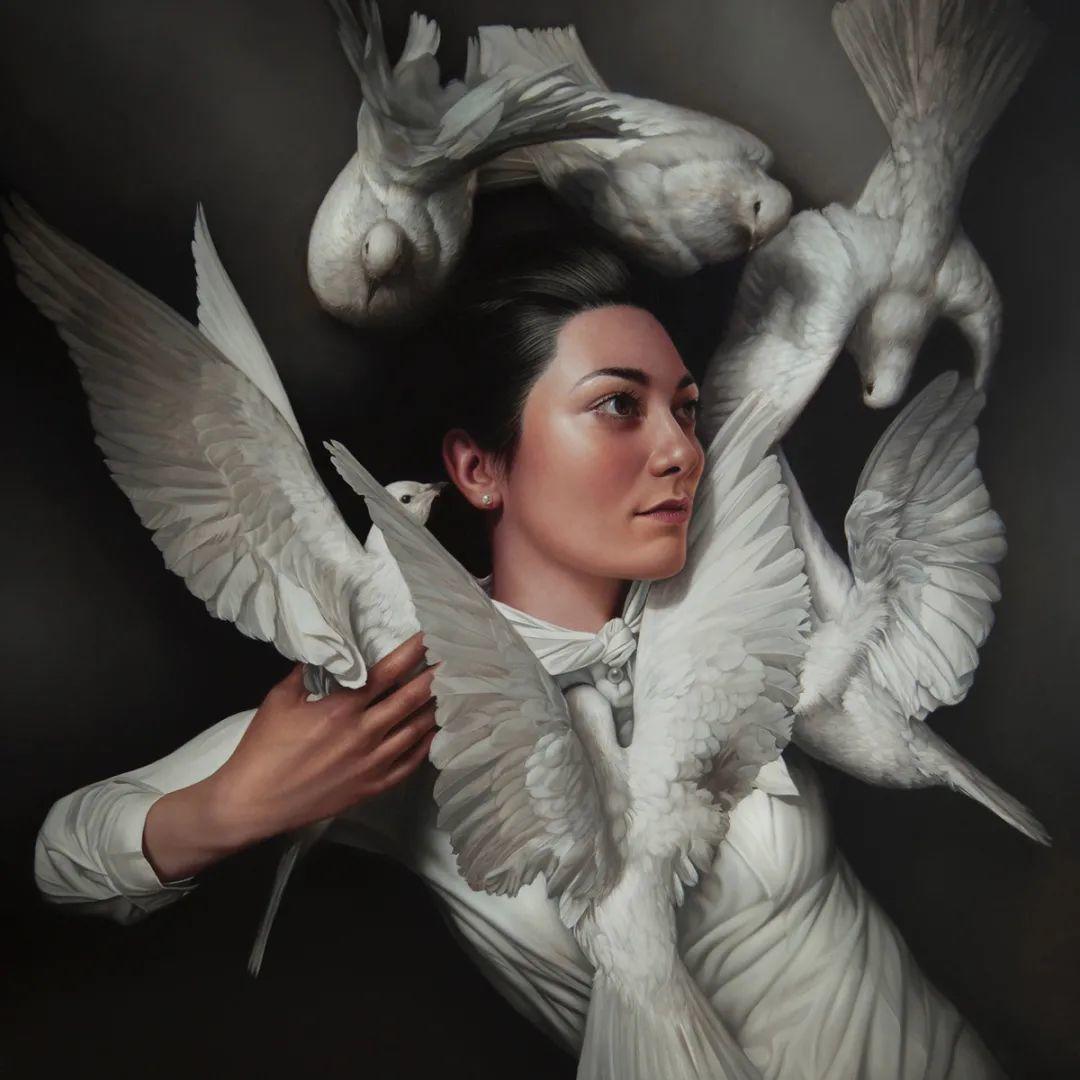 玛丽·简·安塞尔,时尚的女性肖像。插图35