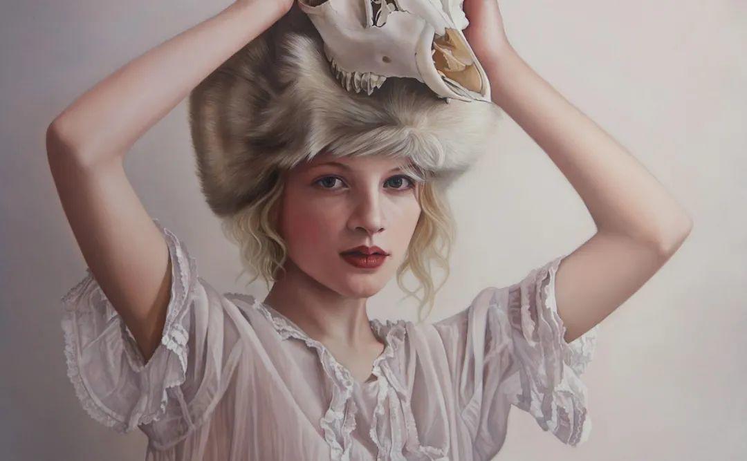 玛丽·简·安塞尔,时尚的女性肖像。插图37