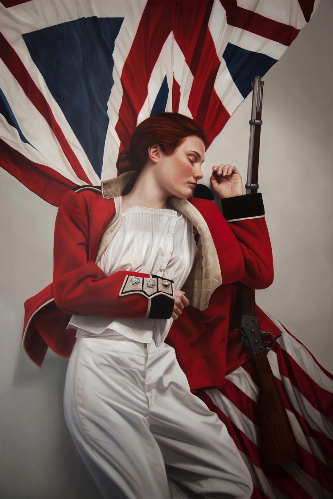玛丽·简·安塞尔,时尚的女性肖像。插图39