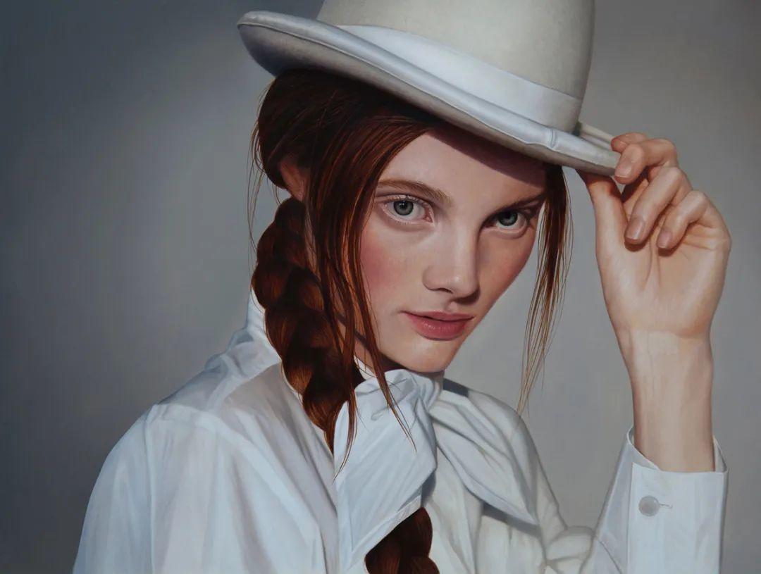 玛丽·简·安塞尔,时尚的女性肖像。插图45
