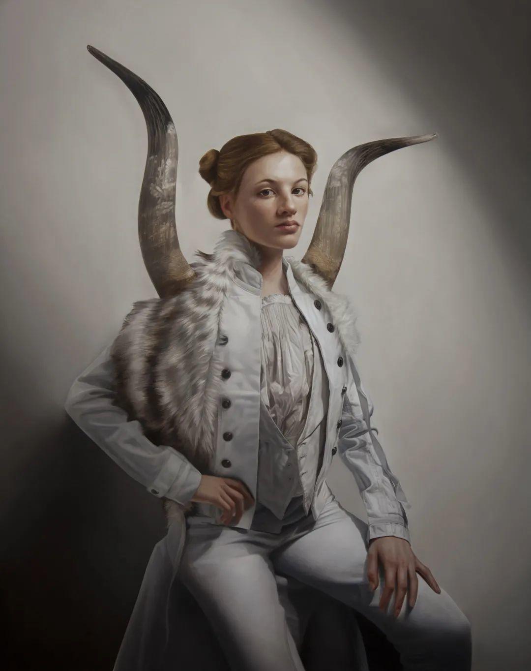 玛丽·简·安塞尔,时尚的女性肖像。插图47