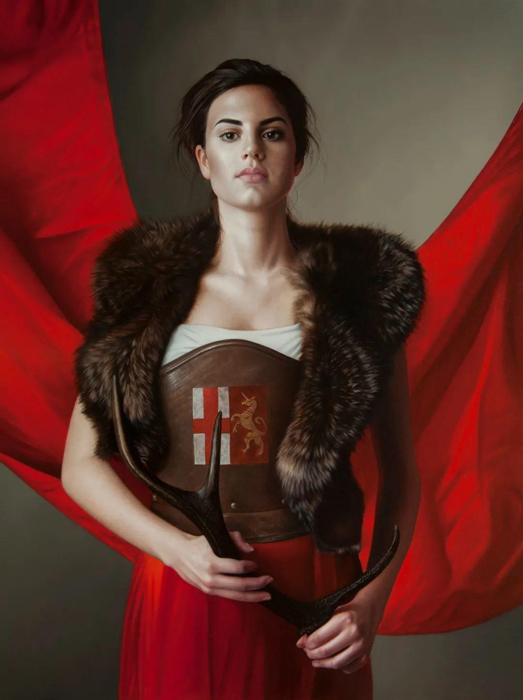 玛丽·简·安塞尔,时尚的女性肖像。插图49
