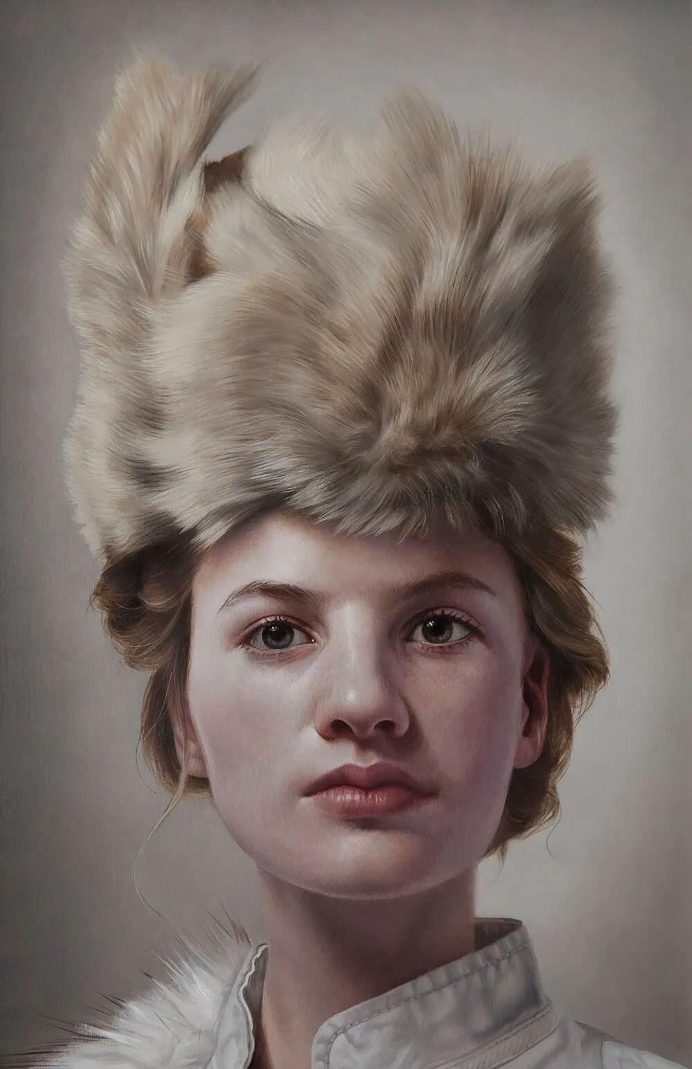 玛丽·简·安塞尔,时尚的女性肖像。插图55