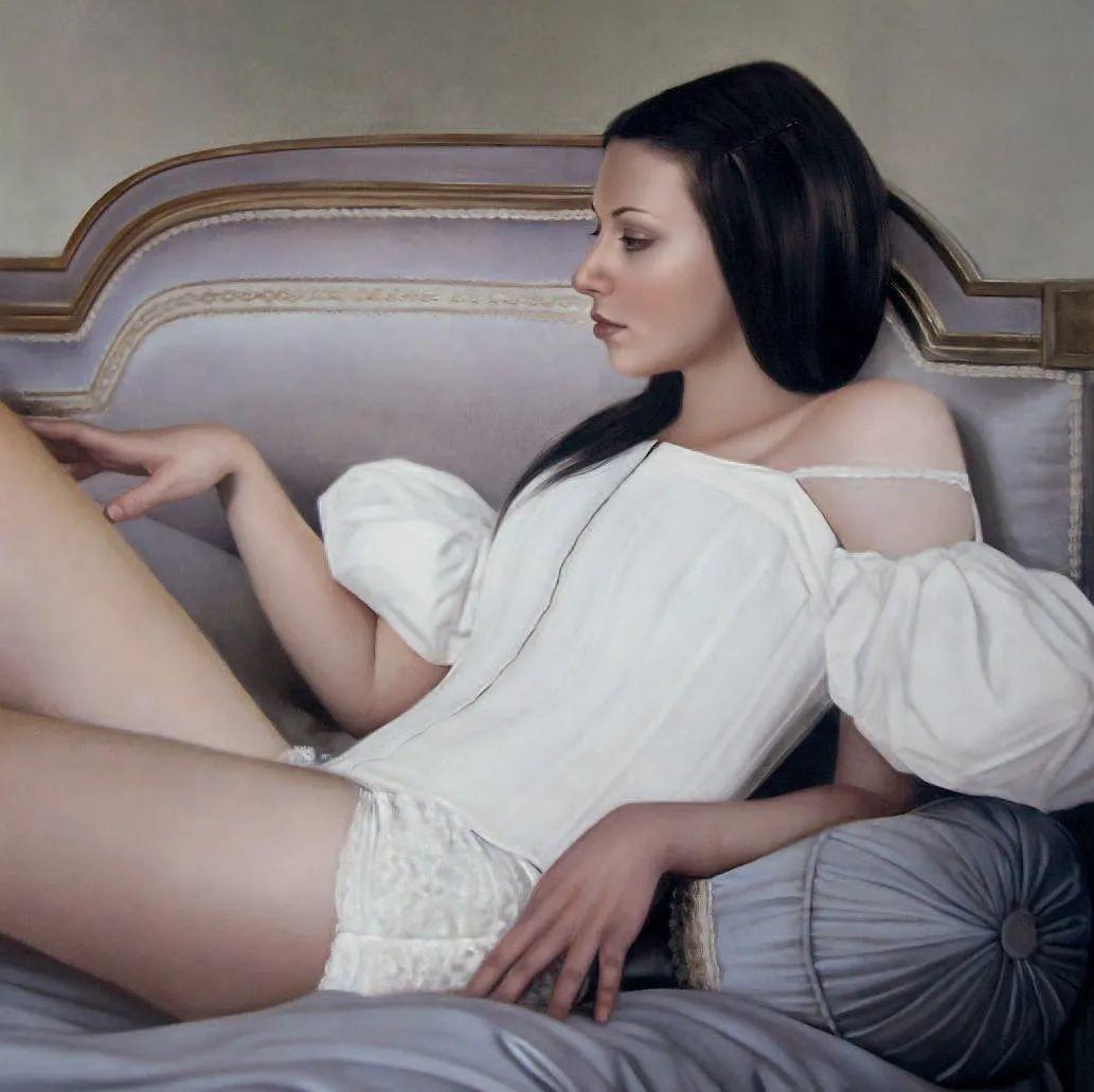 玛丽·简·安塞尔,时尚的女性肖像。插图57