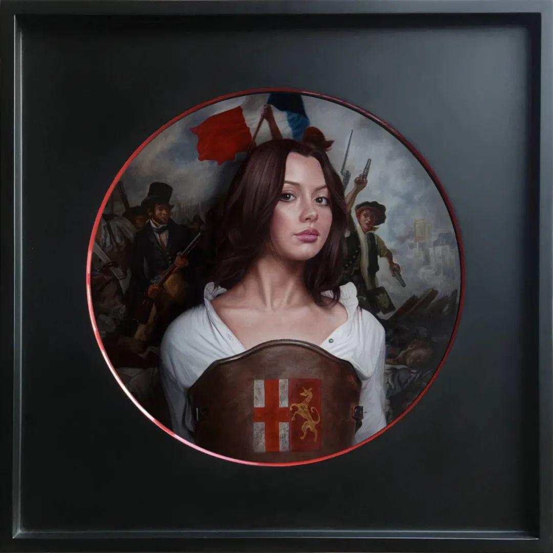 玛丽·简·安塞尔,时尚的女性肖像。插图59