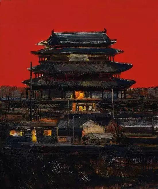 风景油画丨著名艺术家孟新宇的风景油画插图7