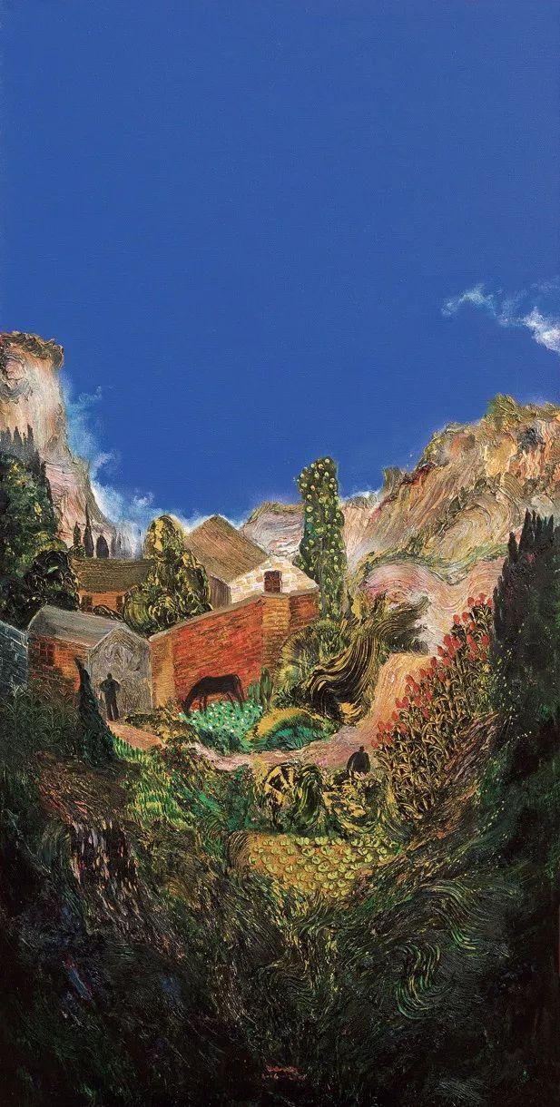 风景油画丨著名艺术家孟新宇的风景油画插图11
