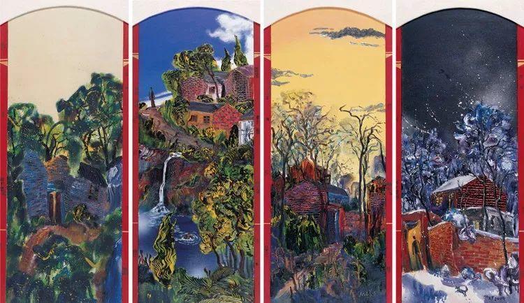 风景油画丨著名艺术家孟新宇的风景油画插图15