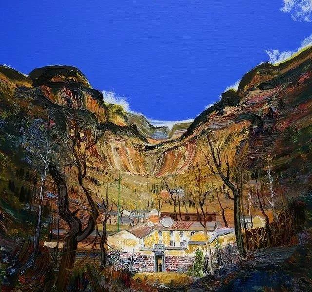 风景油画丨著名艺术家孟新宇的风景油画插图21