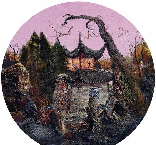 风景油画丨著名艺术家孟新宇的风景油画插图35