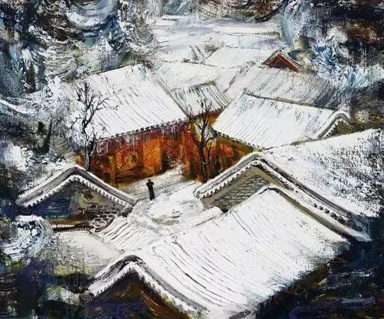 风景油画丨著名艺术家孟新宇的风景油画插图41