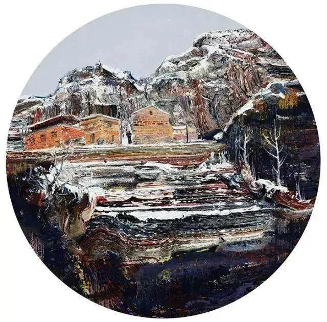 风景油画丨著名艺术家孟新宇的风景油画插图43