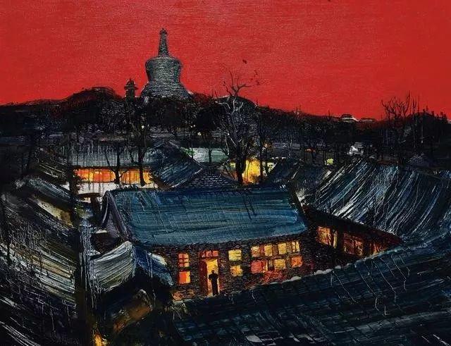 风景油画丨著名艺术家孟新宇的风景油画插图47