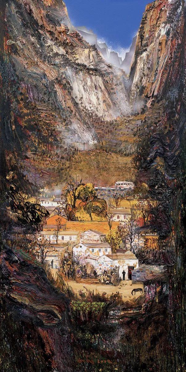 风景油画丨著名艺术家孟新宇的风景油画插图53