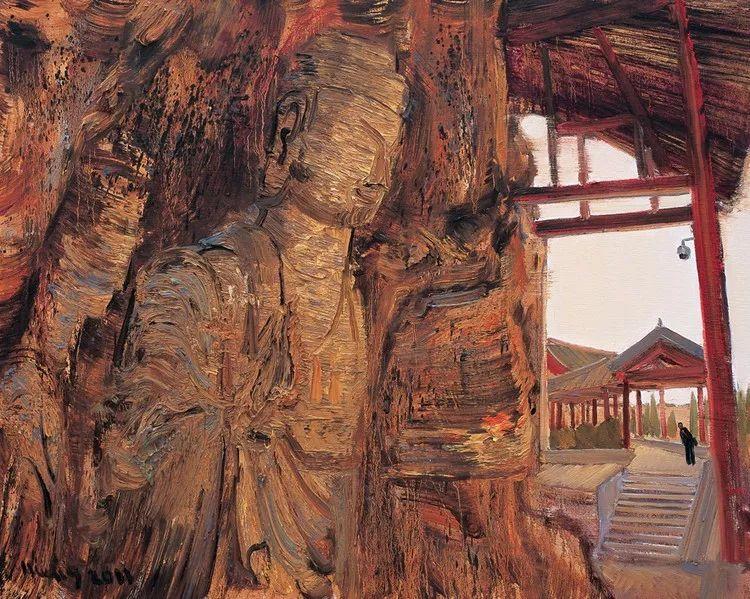 风景油画丨著名艺术家孟新宇的风景油画插图55