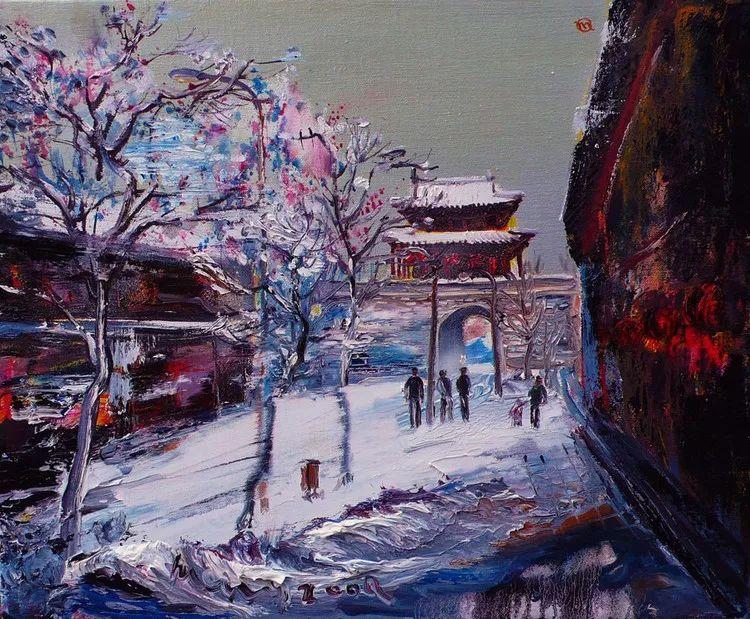 风景油画丨著名艺术家孟新宇的风景油画插图57