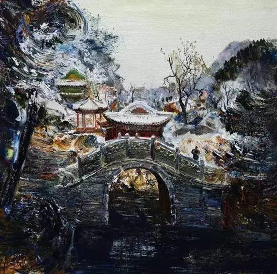 风景油画丨著名艺术家孟新宇的风景油画插图67