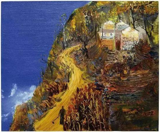 风景油画丨著名艺术家孟新宇的风景油画插图69