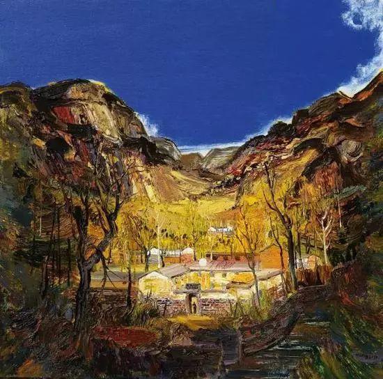 风景油画丨著名艺术家孟新宇的风景油画插图73