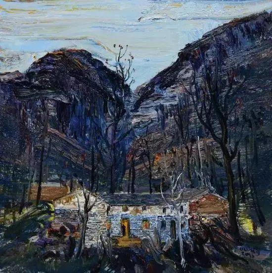 风景油画丨著名艺术家孟新宇的风景油画插图75