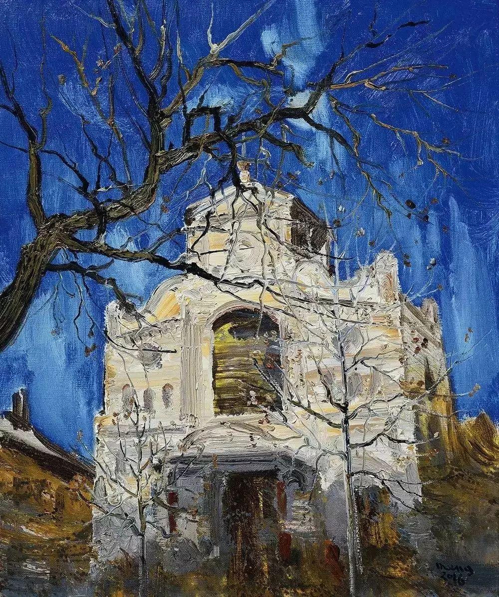 风景油画丨著名艺术家孟新宇的风景油画插图79