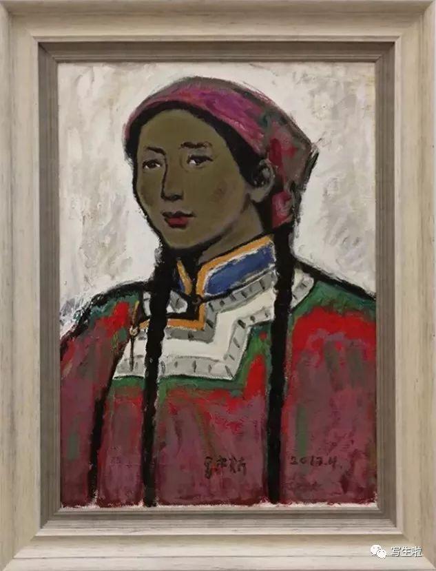他是吴冠中眼中画的最好的画家,他是一代宗师,太极高手——草原画家妥木斯插图15