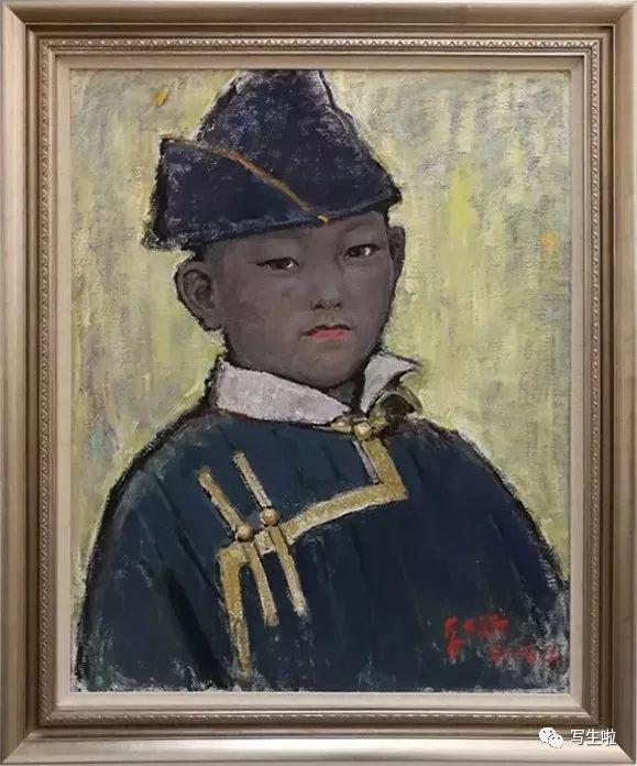 他是吴冠中眼中画的最好的画家,他是一代宗师,太极高手——草原画家妥木斯插图25