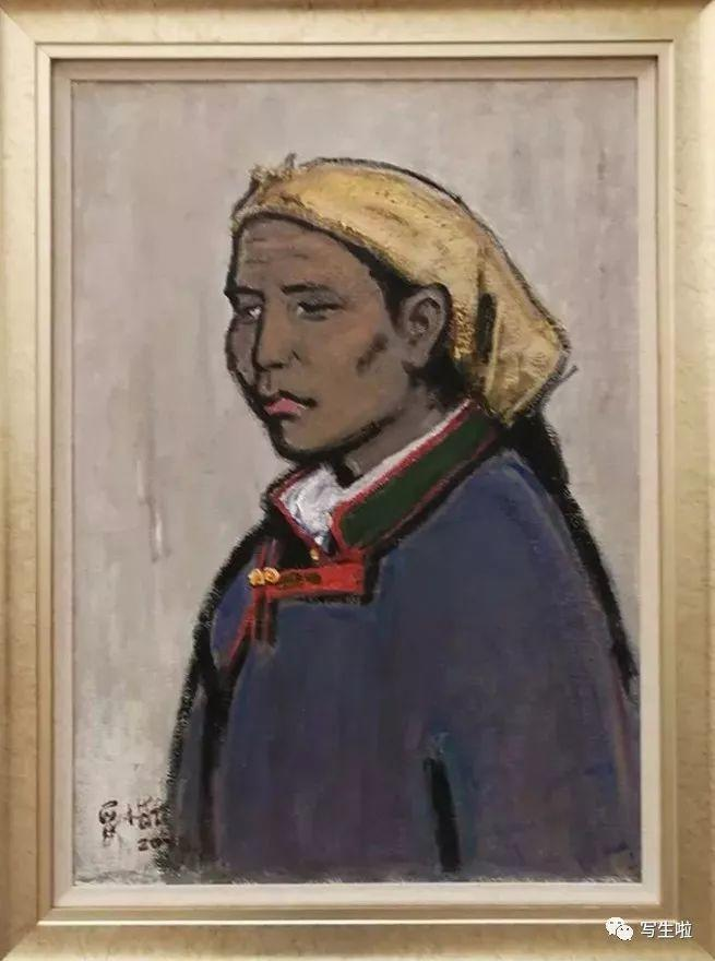 他是吴冠中眼中画的最好的画家,他是一代宗师,太极高手——草原画家妥木斯插图31